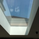 The new roof lights adding enormous amounts of light to the new kitchen.