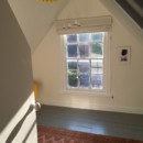The newly converted loft room.